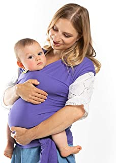 Boba Baby Wrap Purple – The Original Child and Newborn Wrap, Perfect for Infants..