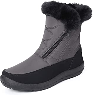 gracosy Snow Boots for Women, Warm Ankle Boots Waterproof Outdoor Slip On Fur Lined Winter Short Booties Anti-Slip Comfort...