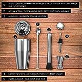 Zoom IMG-2 shaker cocktail di 5 pezzi