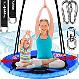 Tree Swing Set with 360° Swivel Safety Rotator 40' Saucer Swing Seat for Kids Backyard Outdoor