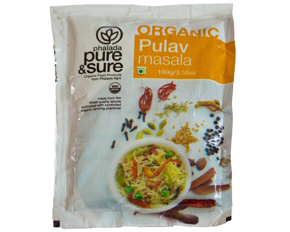 Phalada - Pure  Sure Organic Pulav Masala - 100 Gm