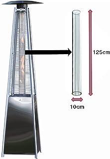 BU-KO Reemplazo del Tubo de Vidrio para el Calentador de