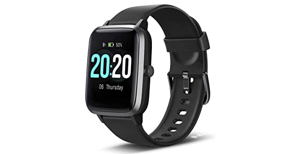 """Lintelek Smart Watch 1.3"""" Full Touch Color Screen for Android iOS ..."""