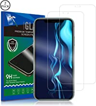 Screen Protector for iPhone 11/iPhone XR, RUAN [2 Pack] Tempered Glass Film,HD Clarity,Case Friendly,Anti Scratch, Curved Edge, Touch Screen Tempered Glass Screen Protector for iPhone 11/iPhone XR