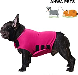 ANWA Dog Anxiety Thunder Vest Coat, Calming Dog Thunder Jacket Wrap, Dog Thunder Shirts for Small Medium Large Dogs