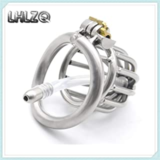 Chás-títy Dêvice Bêlt Cǒck Câge Pěnǐs Löck Riñgs Metal Stainless Steel Chasteness Device Guard Ring Master Stretcher Protector Anti-Off Panty (Size : 50mm)