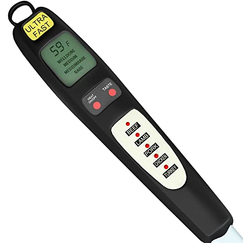 Pre Programmed Digital Meat Thermometer