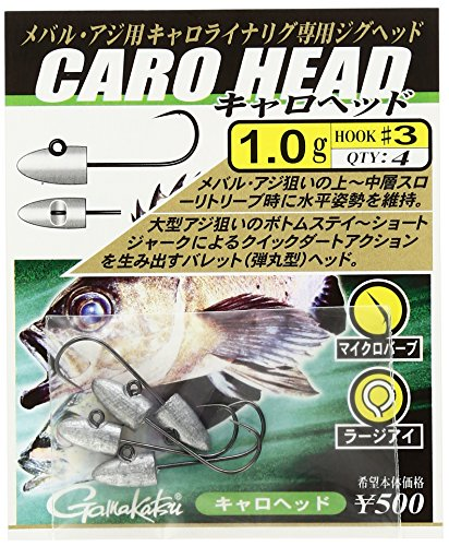 がまかつ(Gamakatsu) バラ キャロヘッド(NSB) 4-1G