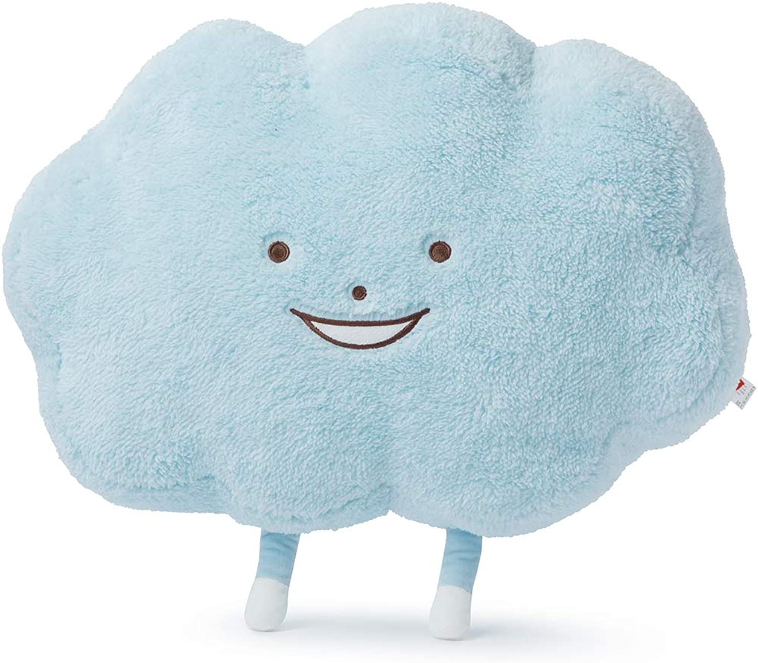 ROY6 Merchandise by Line Friends  LOUDY Character 18  Plush Pillow Decorative Cushion Doll, Light bluee