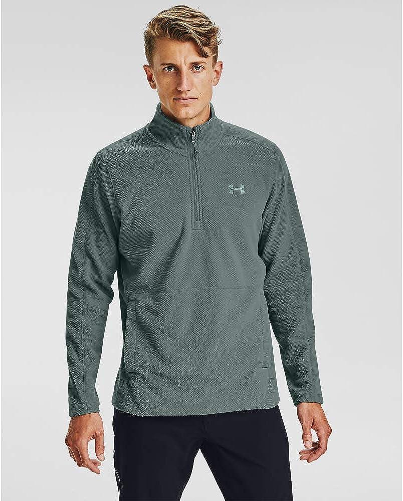 Under Armour Men's Zephyr Fleece Las Vegas Mall Solid Ranking TOP7 Long Zip Sleeve ¼ T-Shirt