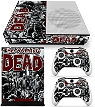 ZoomHit Xbox One S Console Skin Decal Sticker The Walking Dead + 2 Controller Skins Set