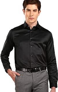 Studio NYX By fbb Men's Plain Slim fit Dress Shirt
