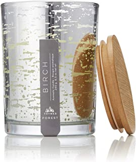 Thymes - Frasier Fir Forest Collection Poured Candle, Birch - 8.5 oz