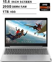 Lenovo IdeaPad L340 15.6 Inch FHD 1080P Laptop - AMD Ryzen 3 3200U up to 3.5GHz, AMD Radeon Vega 3, 20GB DDR4 RAM, 1TB HDD, DVD, Webcam, HDMI, Bluetooth, WiFi, Windows 10, Gray