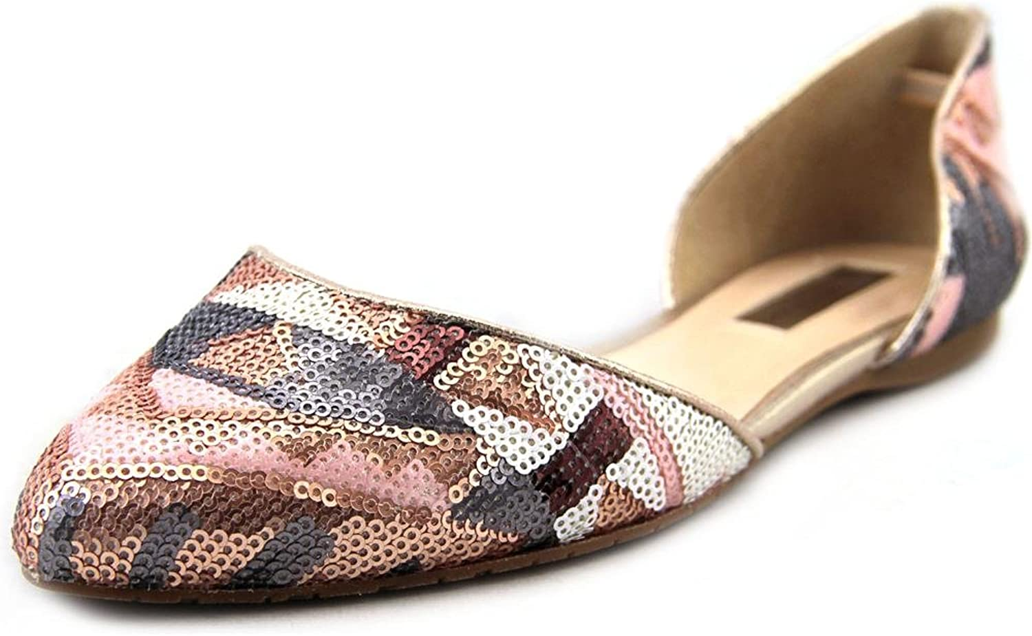 INC International Concepts Womens Crescente 6 Pointed, Dusty Metallic, Size 9.0