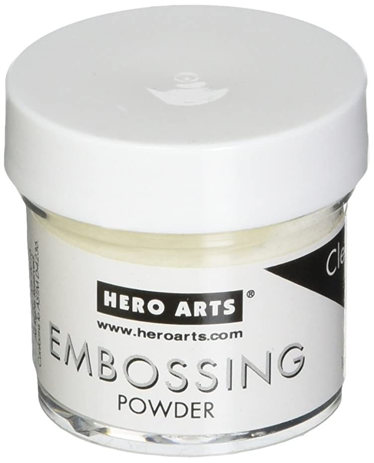 Hero Arts PW104 Embossing Powder, Clear, 1-ounce