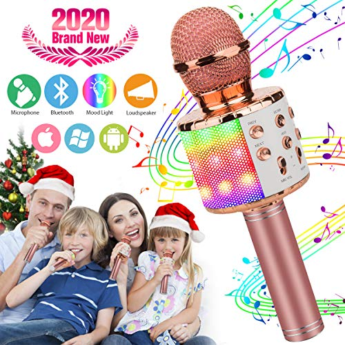 Pasobass Wireless Karaoke Microphone