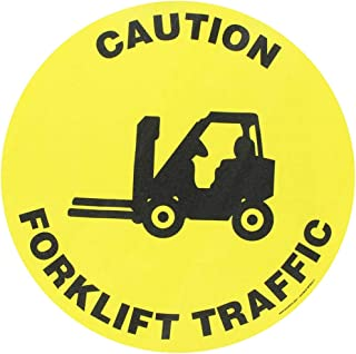 warning decals for forklifts