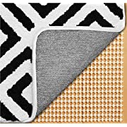 Gorilla Grip Original Extra Strong Rug Pad Gripper, Made in USA, 8x11 FT, Thick Slip and Skid Resistant Pads for Area Rugs on Hard Floors, Under Carpet Mat Cushion and Hardwood Floor Protection