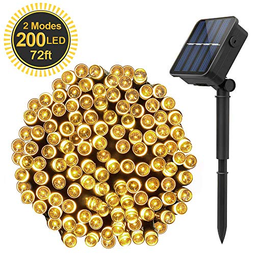 meilleures guirlandes lumineuses solaires Solar Powered String Lights
