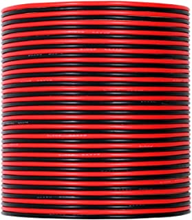 UTUO Hook up Silicone Wire [30ft Total, 15 ft Red and 15ft Black] 24 Gauge Flexible Soft Temper Silicone Rubber Insulation Wire, Stranded Tinned Copper Electronic Power Line