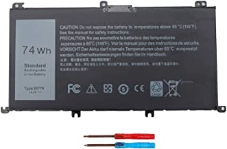 74WH 357F9 Laptop Battery for Dell Inspiron 15 7000 Gaming 15 7559 i7559 7557 i7557 5577 7567 5576 7566 i7559-5012GRY i557...