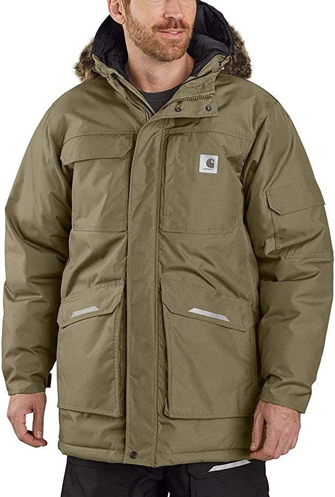 Carhartt Men's Big & Tall Yukon Extremes Loose Fit Insulated Parka