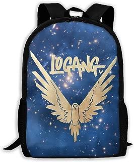 Maverick Bird Gold Logan Paul Casual School Bag Backpack Multipurpose Travel Daypack For Women & Men