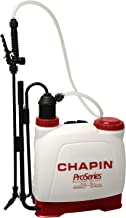 Chapin International 61500 Backpack Sprayer for Fertilizer, 4 gal