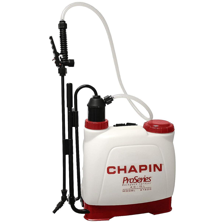 Chapin International 61500 Backpack Sprayer for Fertilizer, 4 gal