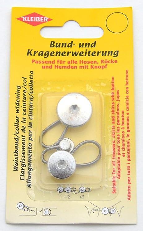 Kleiber - Alargadores de Cuello de Camisa/Blusa, aleación de Zinc, Juego de 3
