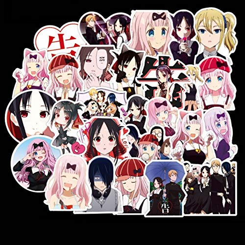 Japan Anime Stickers For Diy Skateboard Laptop Bicycle Pvc Backpack Decal For Teens Girls 50 Pcs Pack