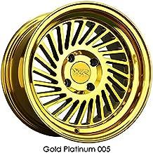XXR 005 16x8 4-100 20 Offset 73.1mm Bore Gold Platinum Wheel Rim