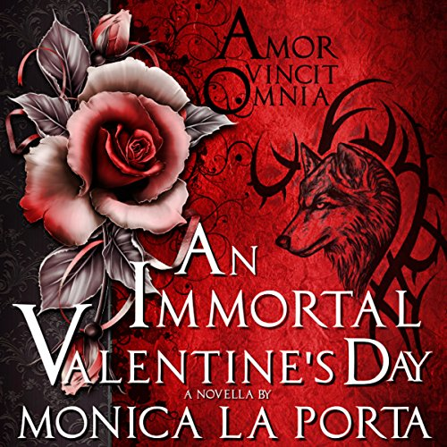 An Immortal Valentine's Day audiobook cover art