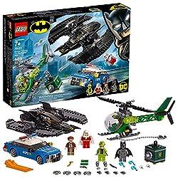 LEGO DC Batman: Batman Batwing and The Riddler Heist 76120 Building Kit (489 Pieces)