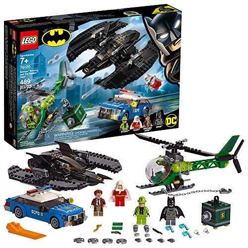 LEGO Batman: Batwing and The Riddler Heist Building Kit (489 Pieces)