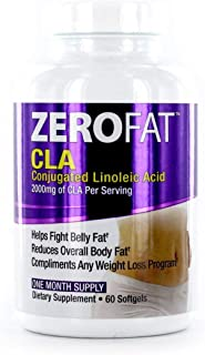 Zerofat CLA Conjugated Linoleic Acid, One Month Supply - 60 Softgels (2)