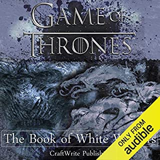 Game of Thrones: The Book of White Walkers audiobook cover art