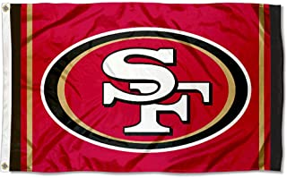 WinCraft San Francisco 49ers SF Large NFL 3x5 Flag