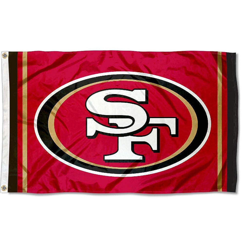 WinCraft San Francisco 49ers SF Large NFL 3x5 Flag owibxl1358028