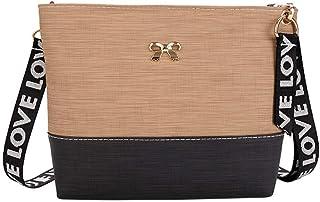 Wultia - Bags for Women 2019 Women Leather Shoulder Bag Messenger Satchel Tote Crossbody Bag Handbag Bolsa Feminina Khaki