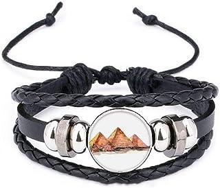 BlingDi Fashion Native American Falcon Design Heart Lucky Bracelet Jewelry