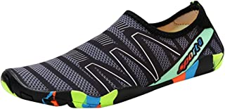 Water Shoes Men and Women Quick Drying Sport Shoes with 14 Holes Water Socks Barefoot Shoes Beach Swim Yoga (Color : 3, Size : 37EU)