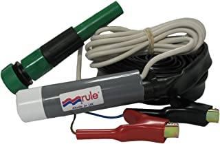 Rule iL500PK Marine 500 GPH Inline Submersible Pump (12-Volt Kit)