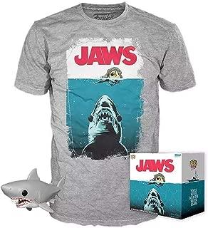 Pop! Movies Jaws Vinyl Figure & T-Shirt - Large