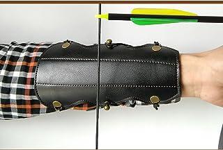 3Z Archery Brazalete de piel elástica de protección para el brazo de la flecha del arco para la caza del antebrazo para uso al aire libre accesorio de tiro