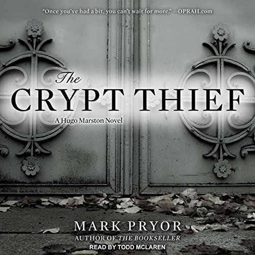 The Crypt Thief audiobook cover art
