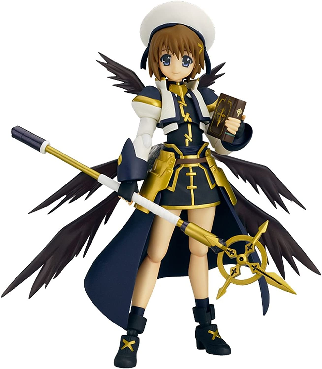 What figma Magical Girl Lyrical Nanoha The MOVIE 2nd A's Hayate Yagami The MOVIE 2nd A's ver. (non-scale ABS & PVC painted action figure) (japan import)