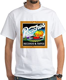 peaches records and tapes t shirt