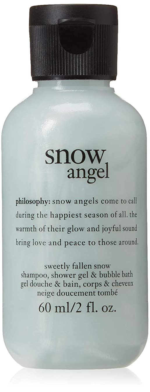 ブレス未亡人どこにもPhilosophy - Snow Angel Shampoo, Shower Gel and Bubble Bath Ornament [並行輸入品]